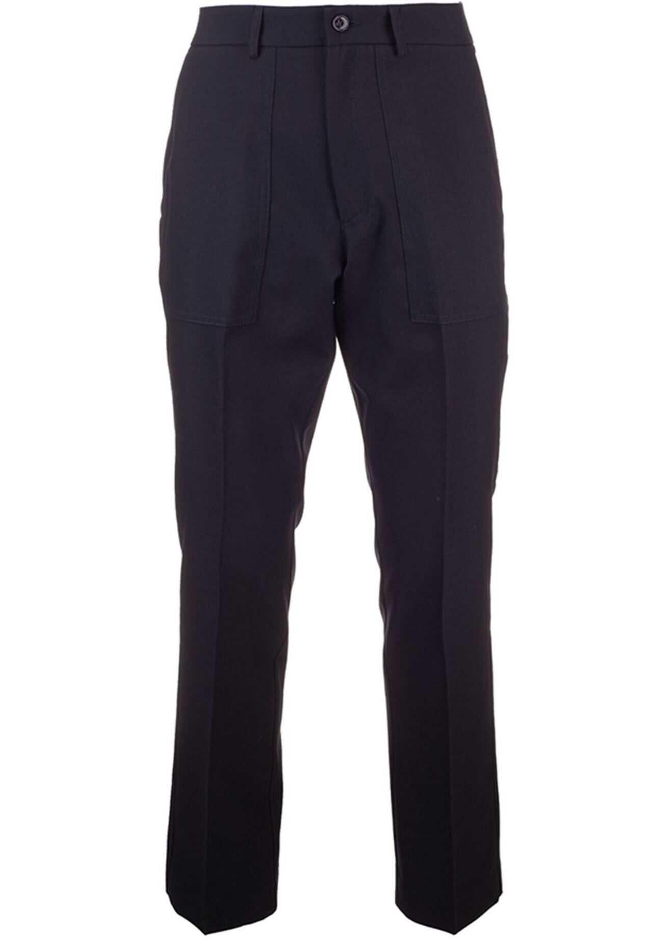 Moncler Genius 1952 Pants In Black Black imagine