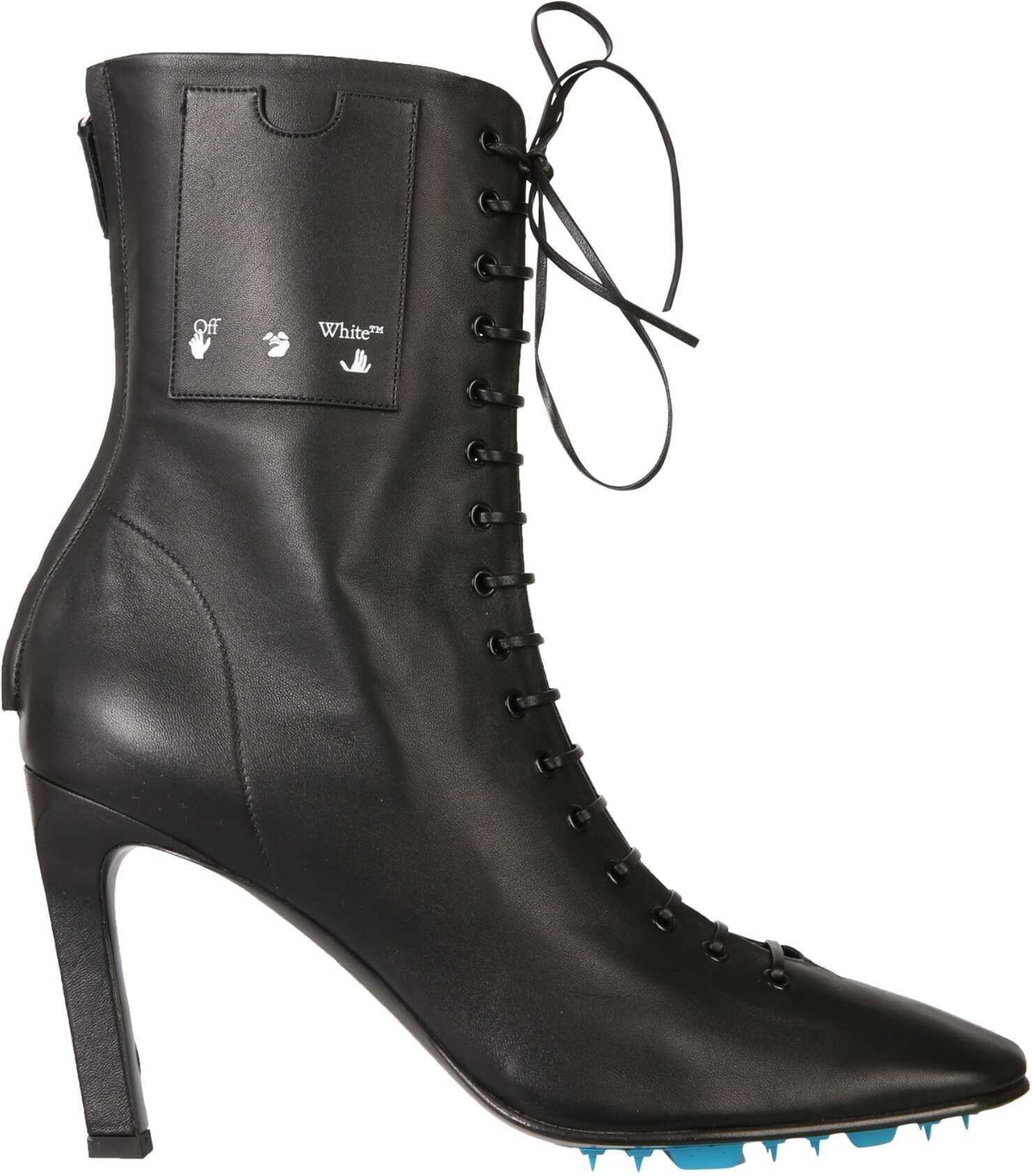 Off-White Boots With Laces OWIA248_E20LEA0011000 BLACK imagine b-mall.ro