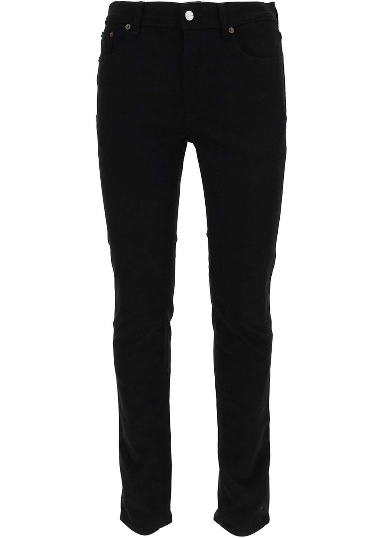 Acne Studios Denim Jeans In Black Black imagine