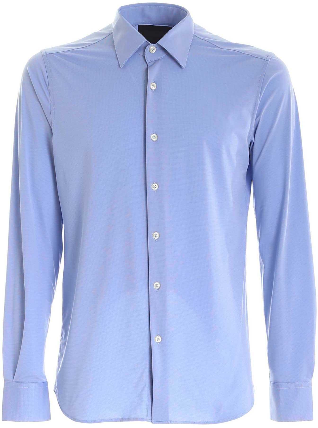 RRD Roberto Ricci Designs Oxford Shirt In Light Blue Light Blue imagine