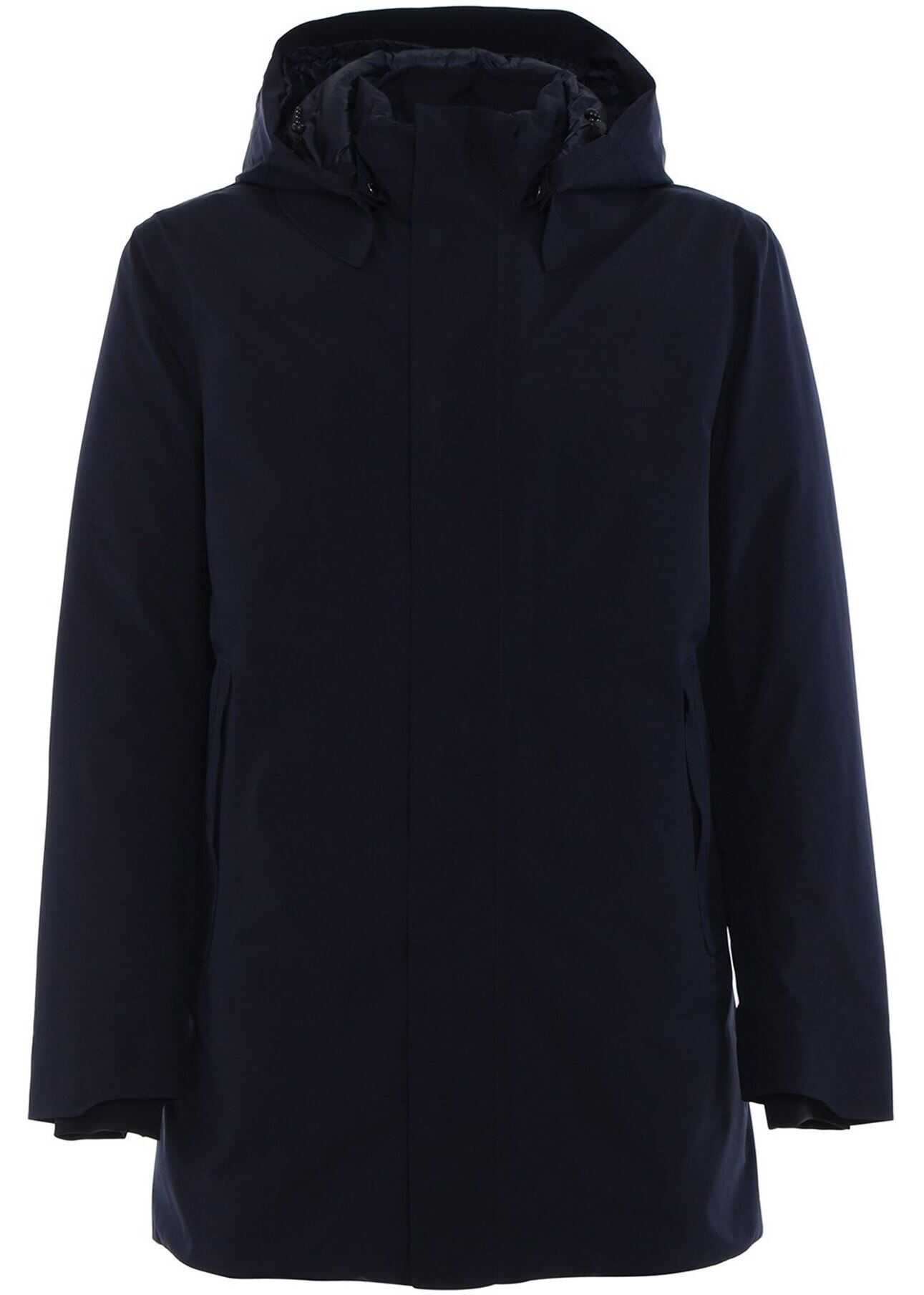 Save the Duck Gore-Tex® Coat In Blue Blue imagine