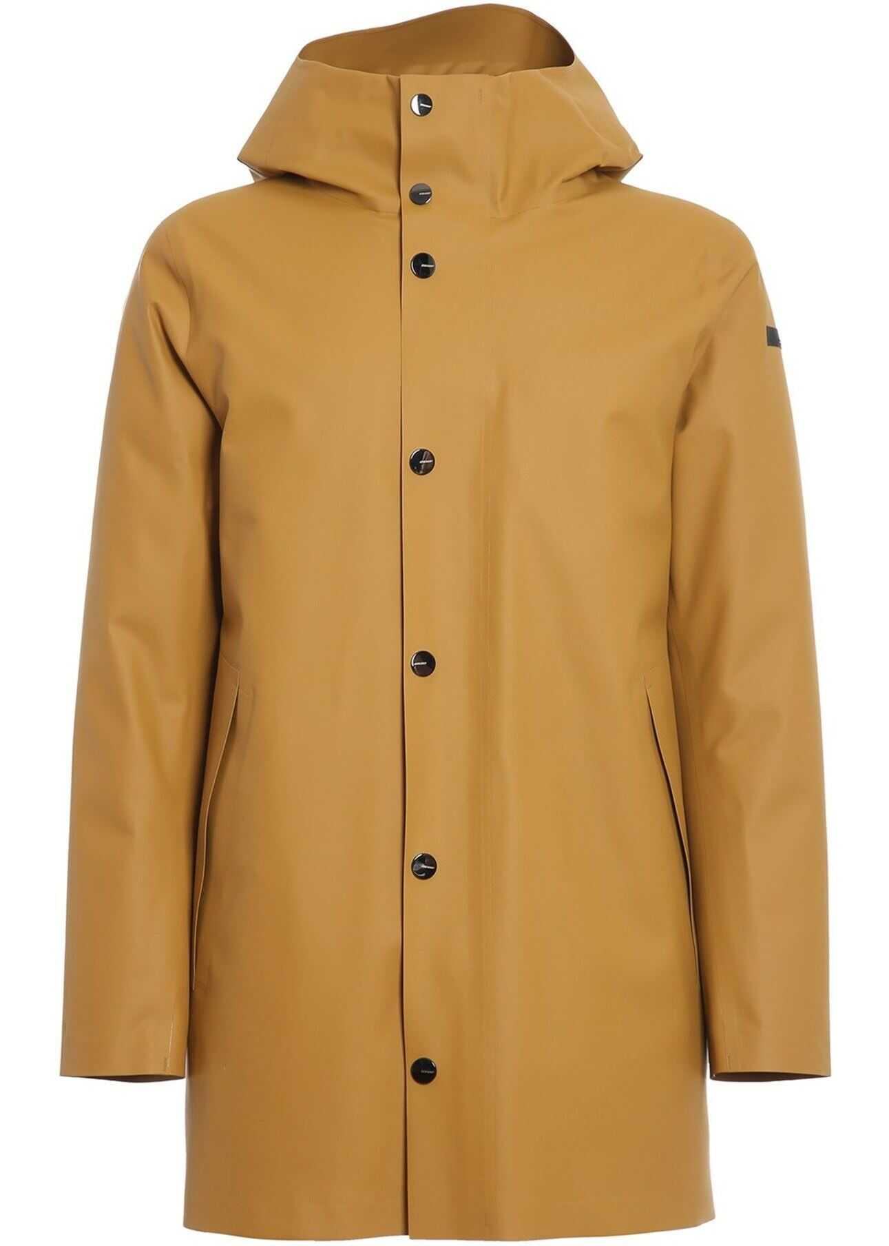 RRD Roberto Ricci Designs Double Rubber Parka In Yellow Yellow imagine
