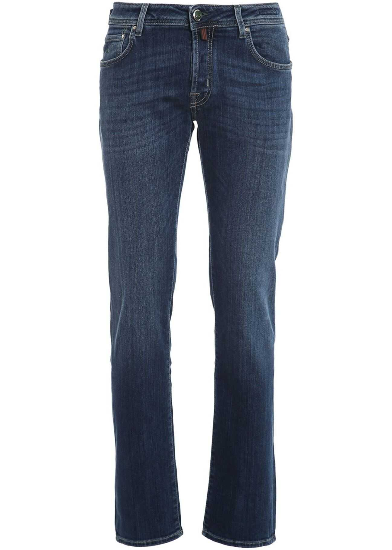 Jacob Cohen Denim Jeans In Blue Blue imagine