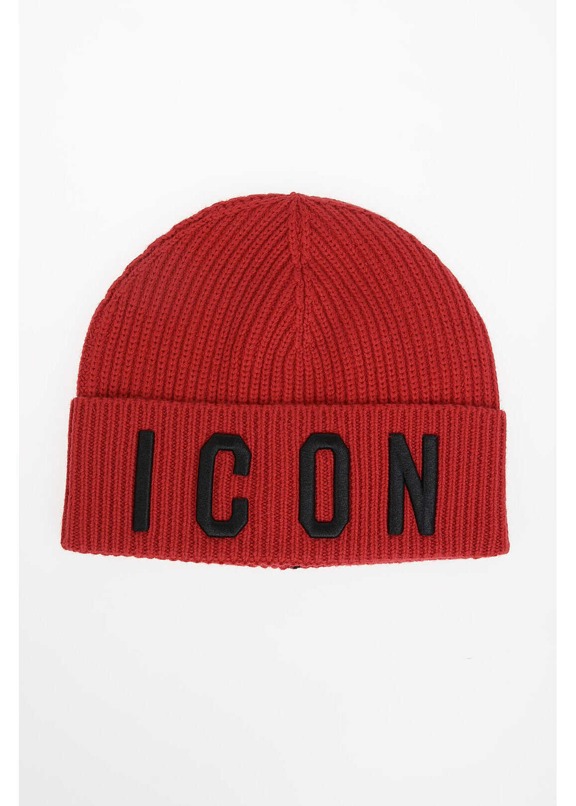 Dsquared2 Kids knit ICON Beanie RED