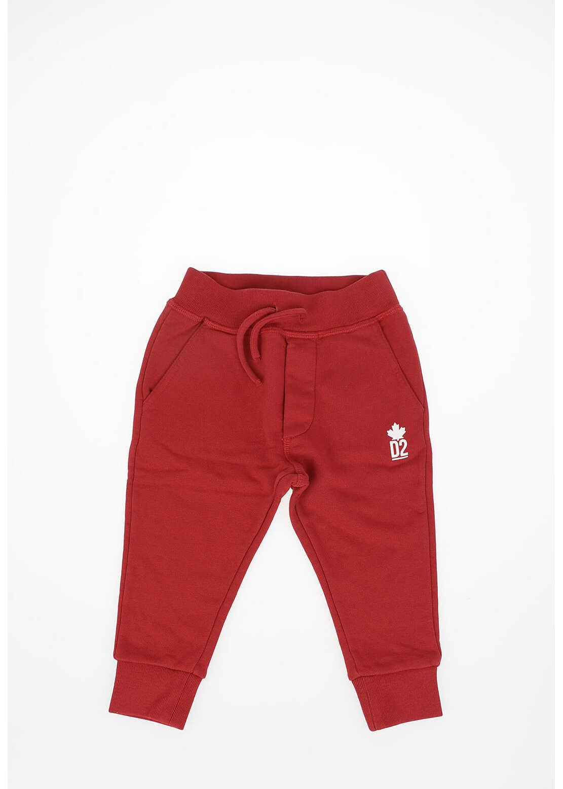 Dsquared2 Kids Drawstring Jogger Pants RED