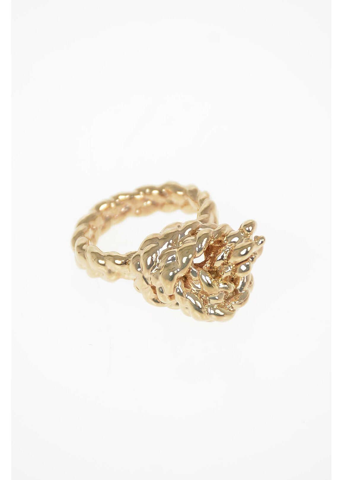Maison Margiela MM11 Brass Ring GOLD