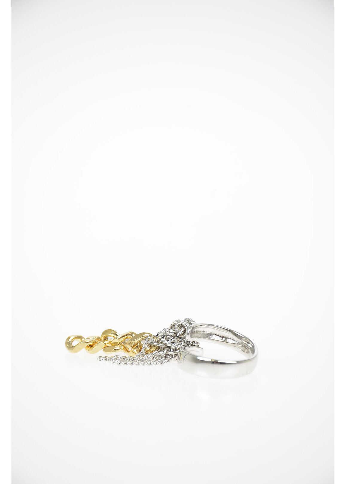Maison Margiela MM6 Chain Ring SILVER
