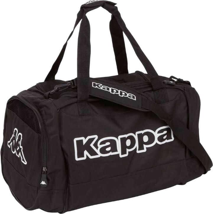 Kappa Tomar Sportbag Black imagine b-mall.ro