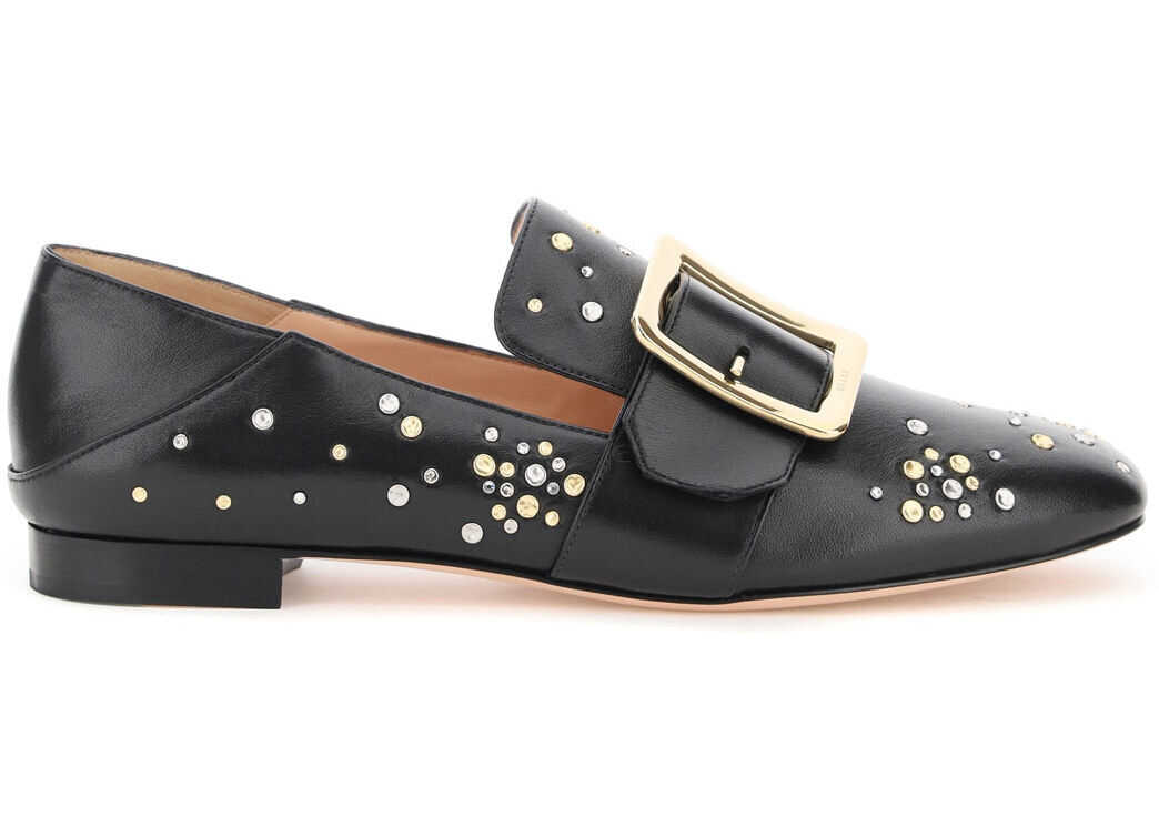 Bally Janelle Loafers 6234795 0100 BLACK imagine b-mall.ro