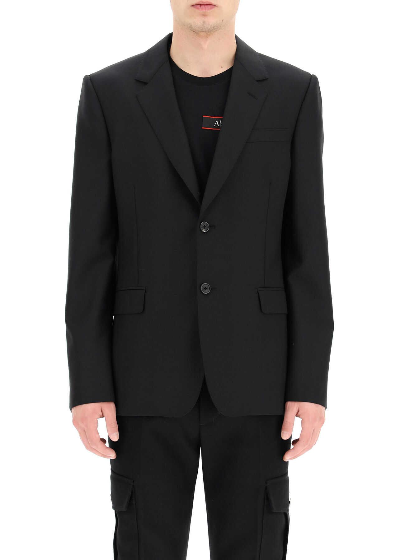 Alexander McQueen Wool And Mohair Blazer BLACK imagine