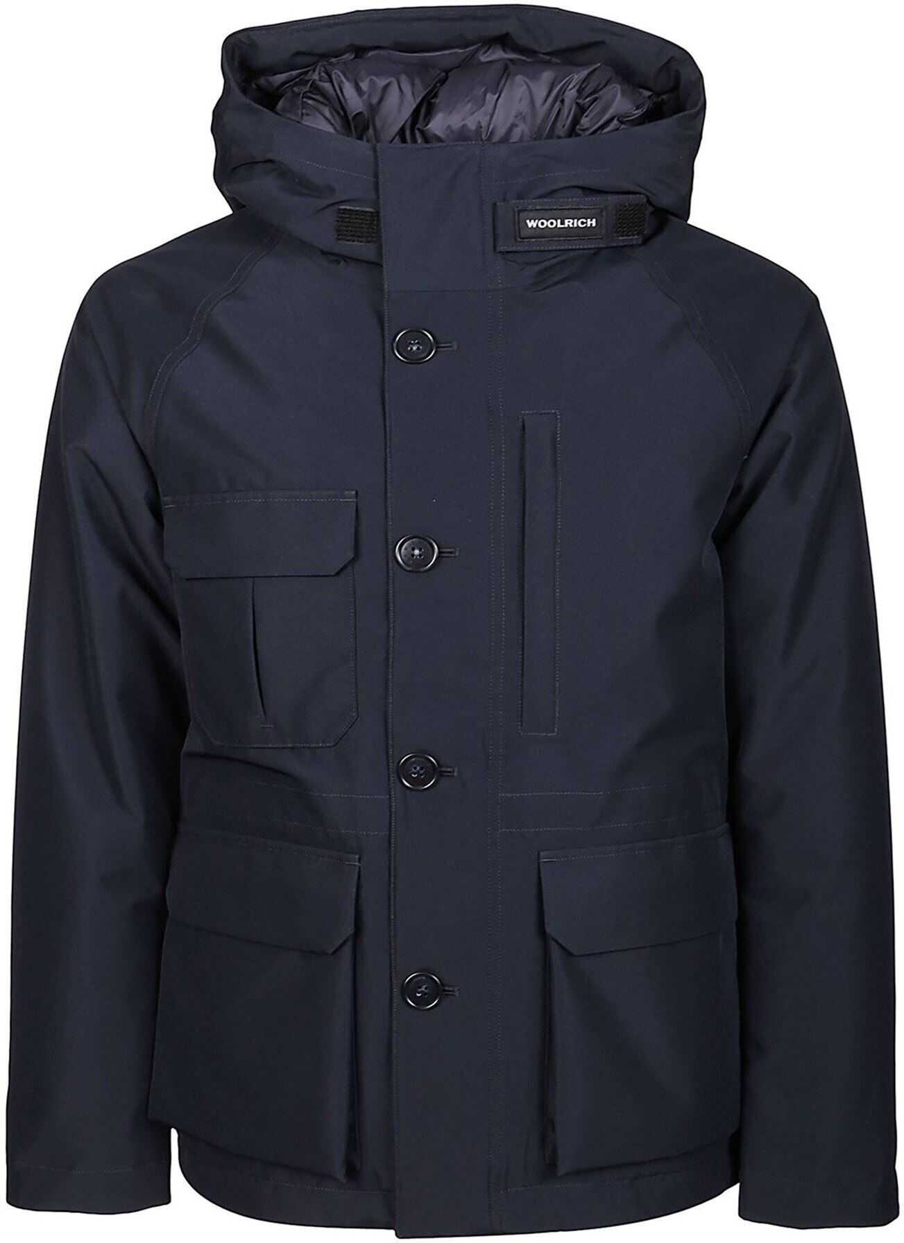 Woolrich Mountain Padded Parka Blue imagine