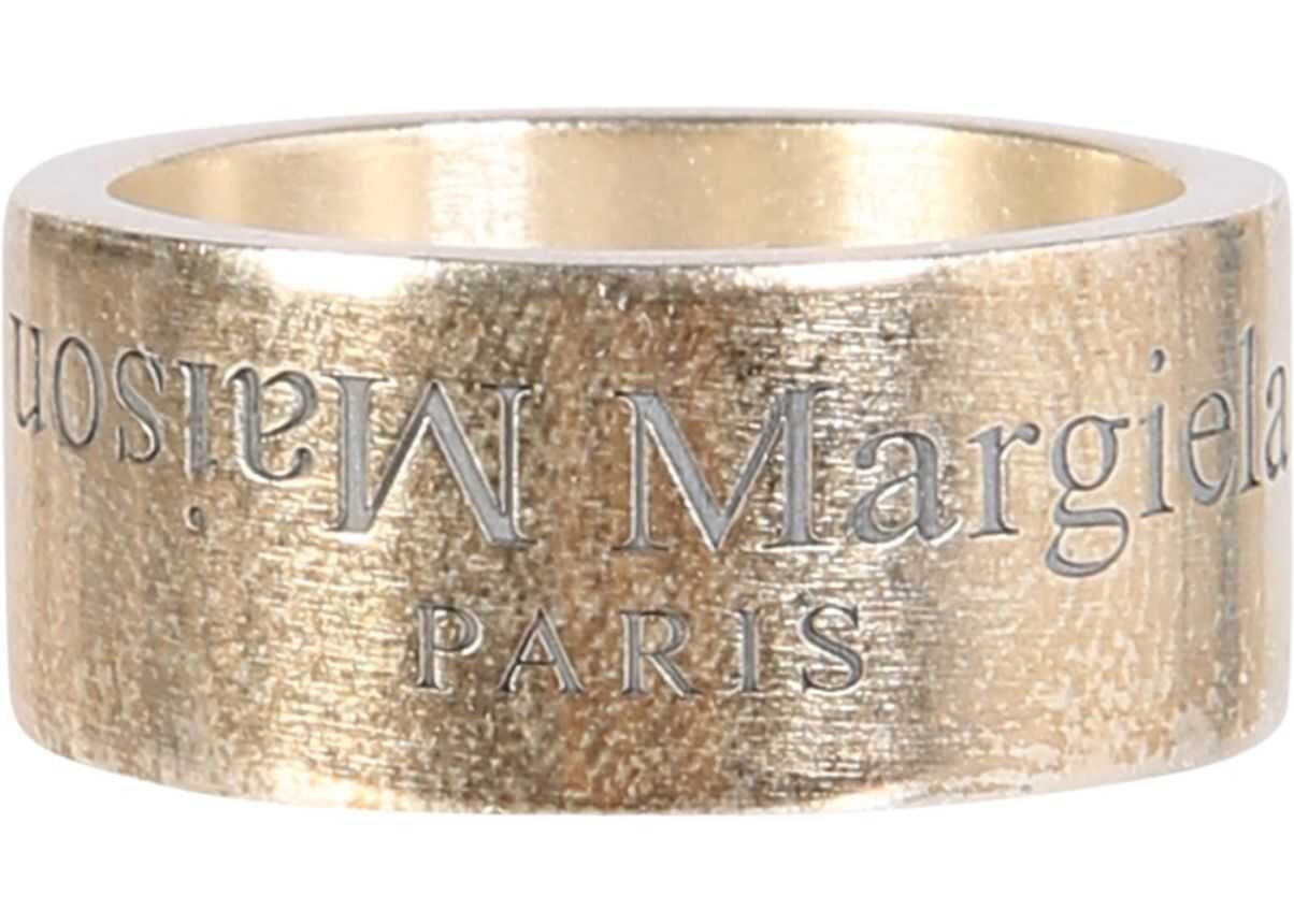 Band Ring With Logo