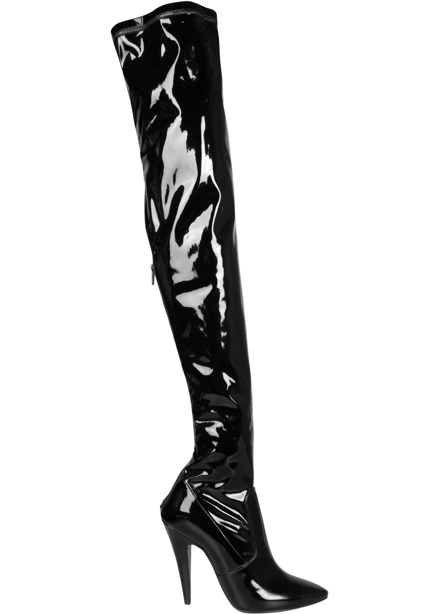"""Saint Laurent """"Aylah"""" Boots 637457_1LW101000 BLACK imagine b-mall.ro"""