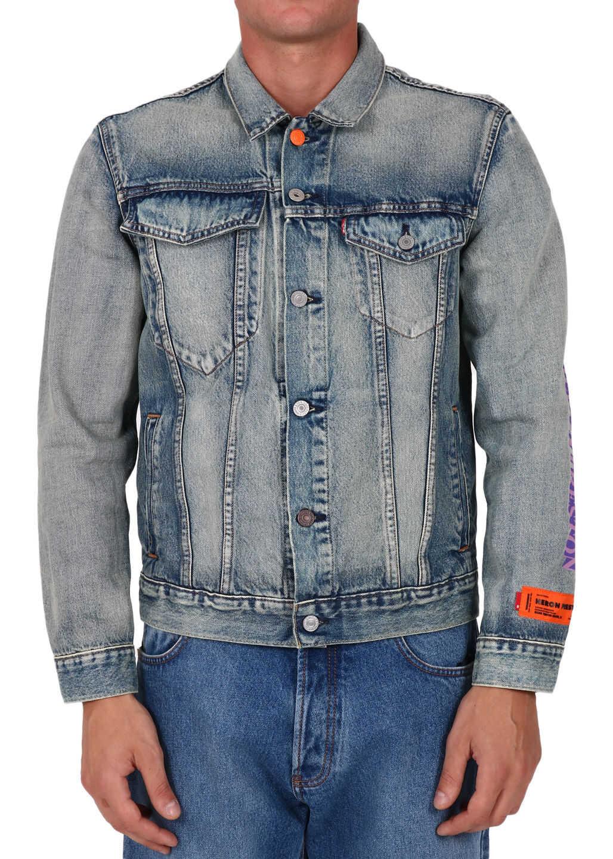 Heron Preston Levi's X Heron Preston Denim Jacket Blue imagine