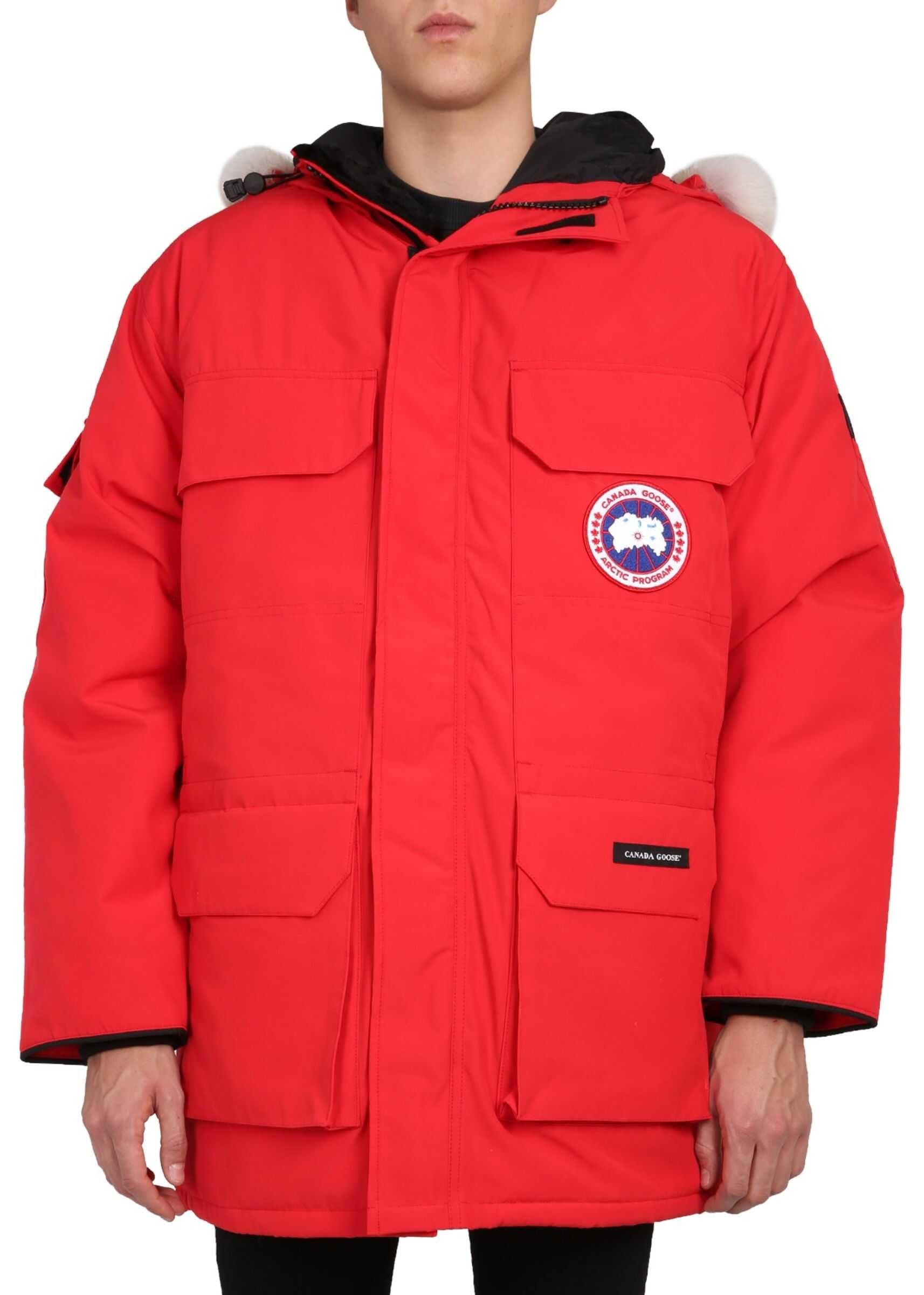 "CANADA GOOSE ""Expedition"" Parka RED imagine"