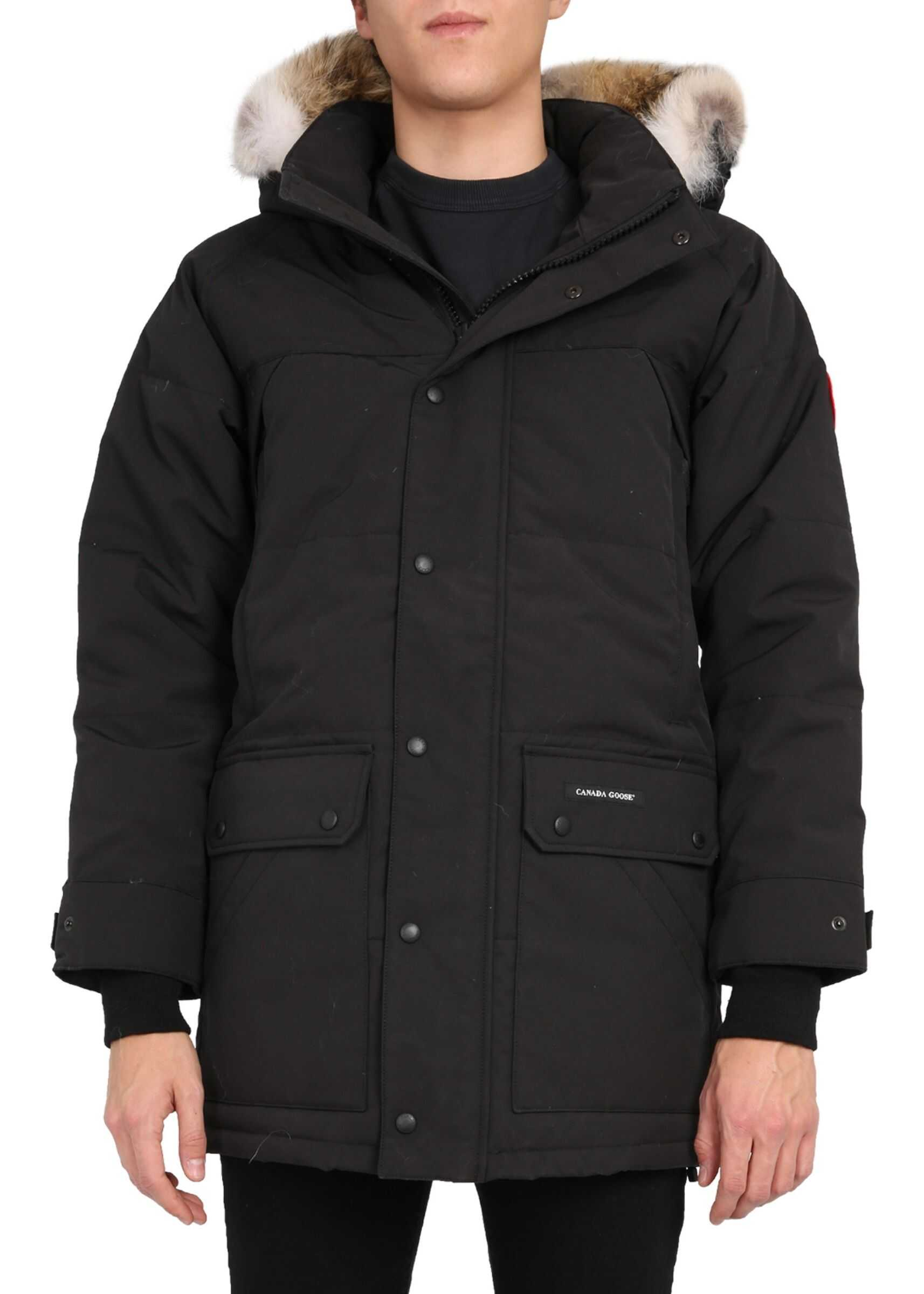"CANADA GOOSE ""Emory"" Parka BLACK imagine"
