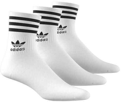 adidas Mid Cut Crw Sck* White