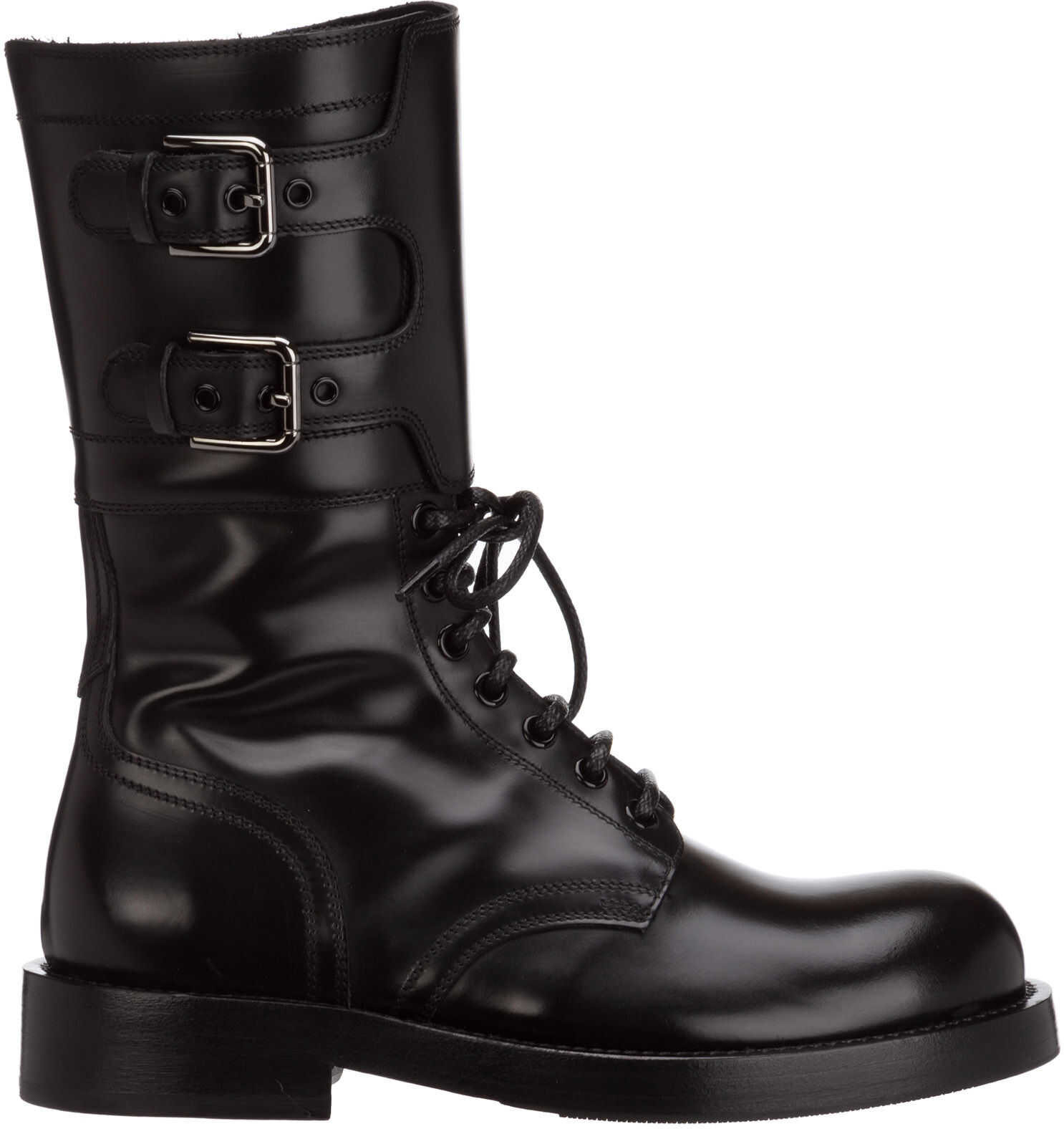 Dolce & Gabbana Boots Booties CT0710AC80180999 Black imagine b-mall.ro