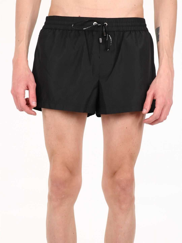 Dolce & Gabbana Swimsuit Black imagine