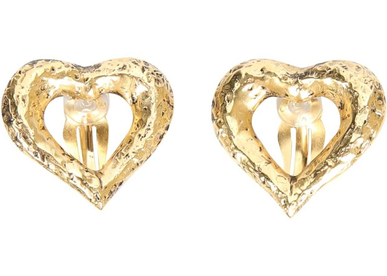 Saint Laurent Clip Earrings GOLD