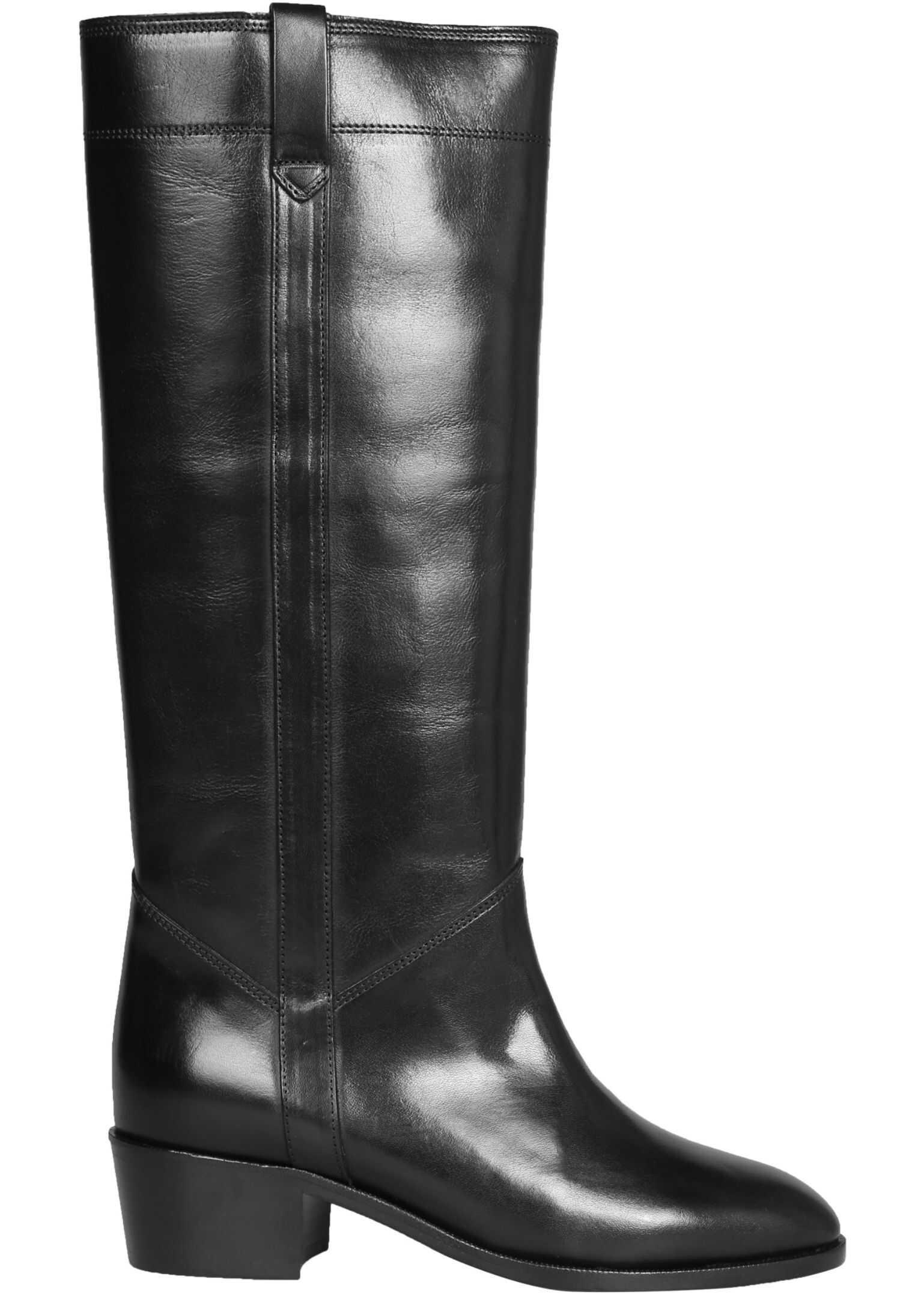 Isabel Marant Mewis Boots BT0135_20A042S01BK BLACK imagine b-mall.ro