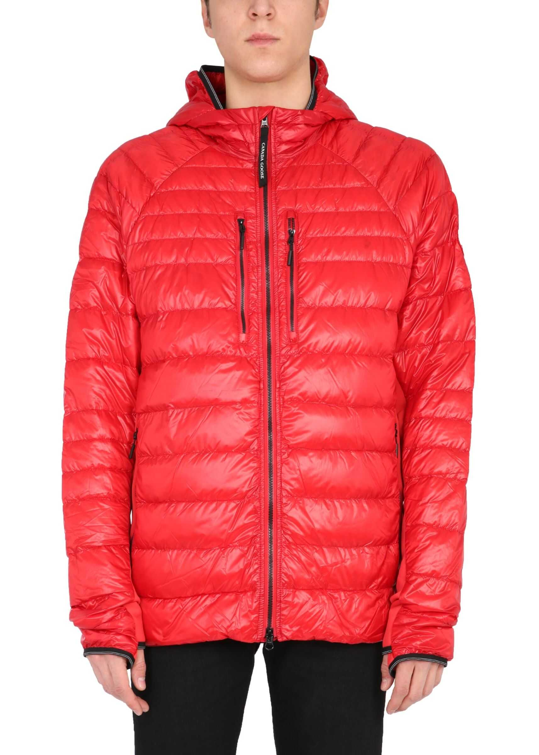 "CANADA GOOSE ""Hybridge Lite"" Down Jacket RED imagine"