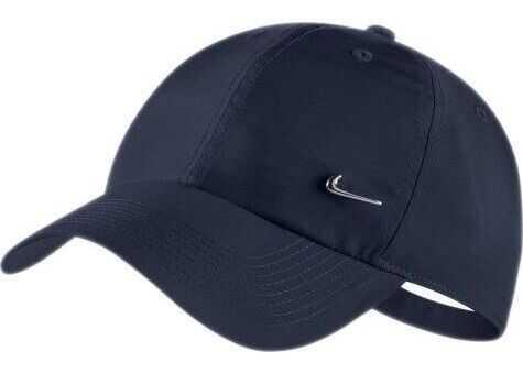 Nike HERITAGE86 Cap Metal Swoosh* Bleumarin
