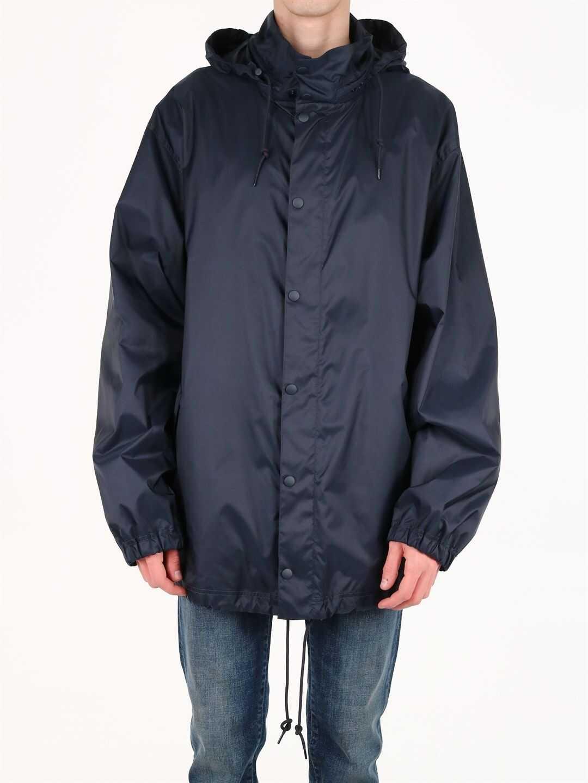Balenciaga Windproof Jacket Blue imagine