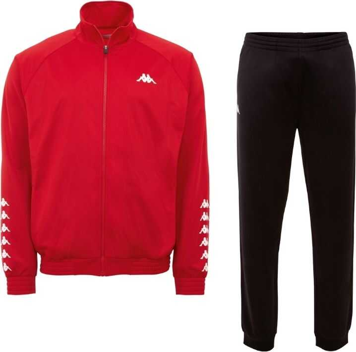 Kappa Till Training Suit Red imagine