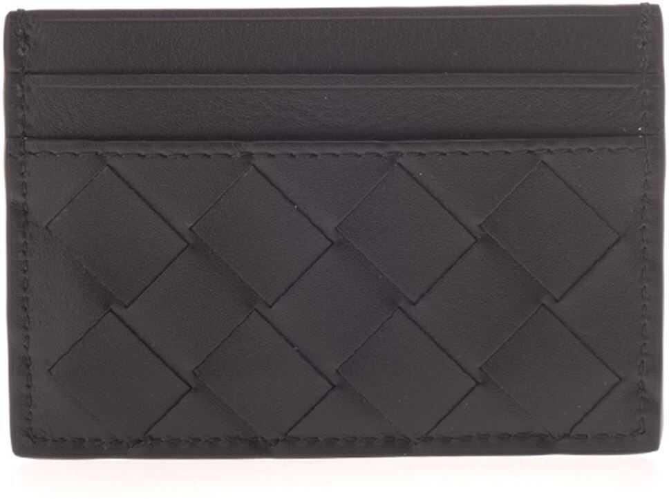 Woven Wallet In Black