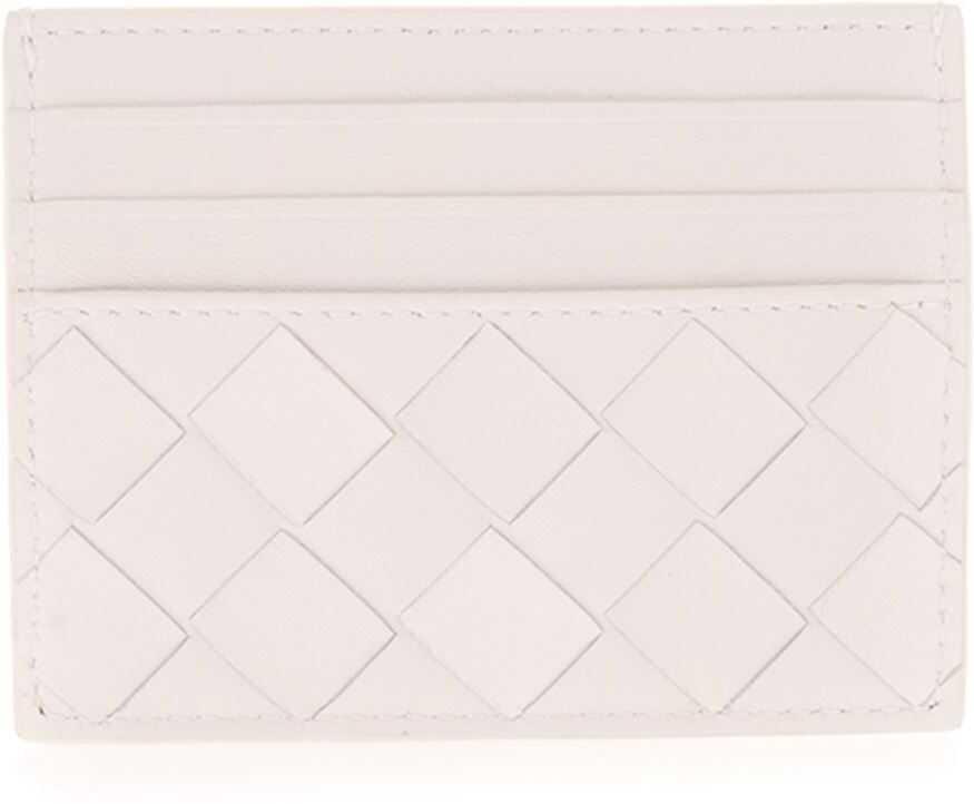 Woven Card Holder In White