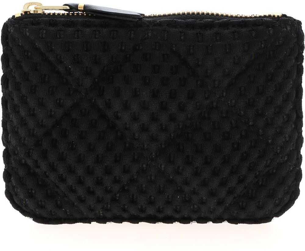 Comme des Garçons Fat Tortoise Bag In Black SA8100FT BLACK Black imagine b-mall.ro