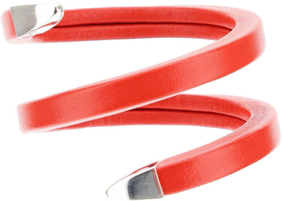 Bottega Veneta Spiral Bracelet CHILI