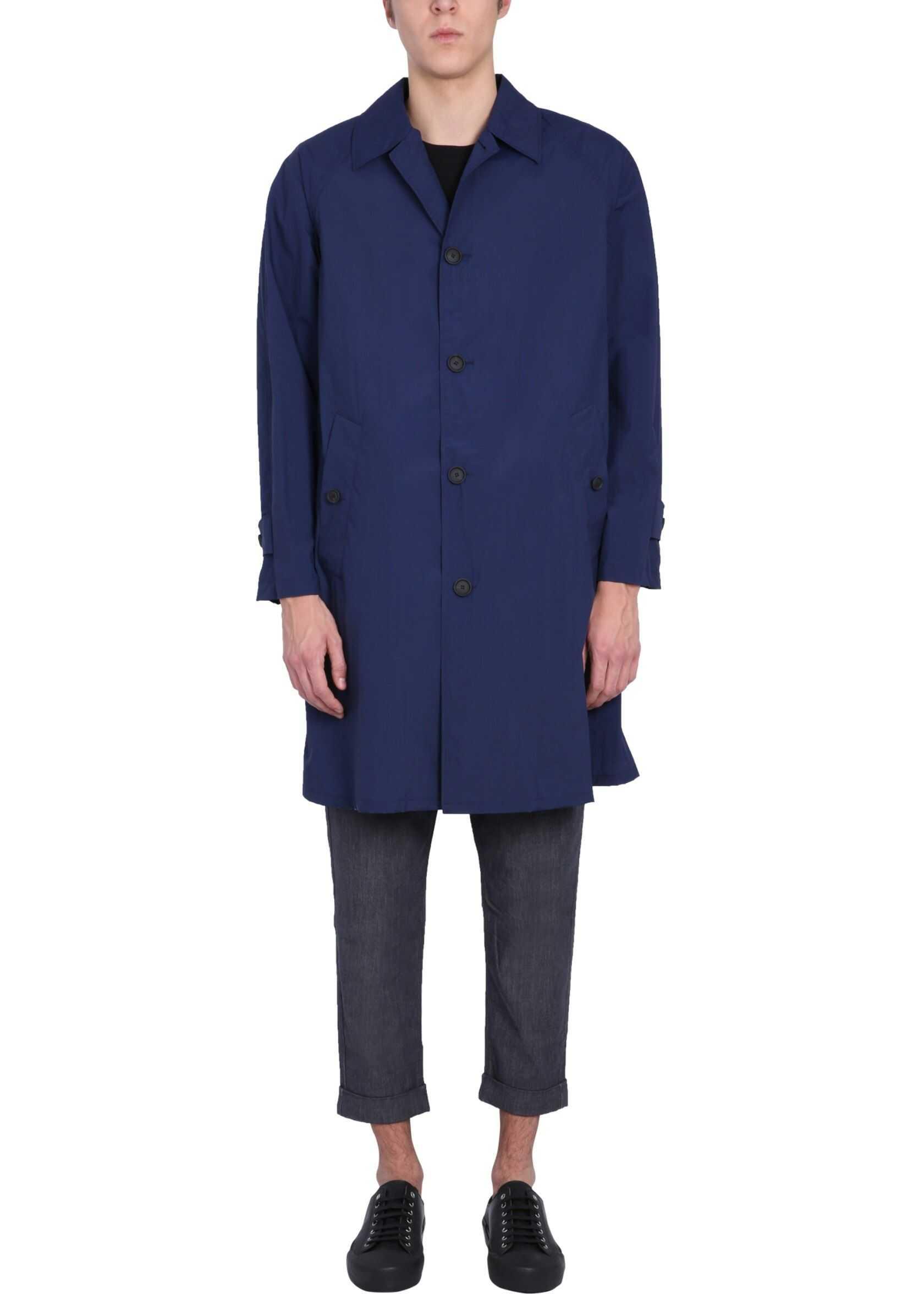 BOSS Regular Fit Coat BLUE imagine