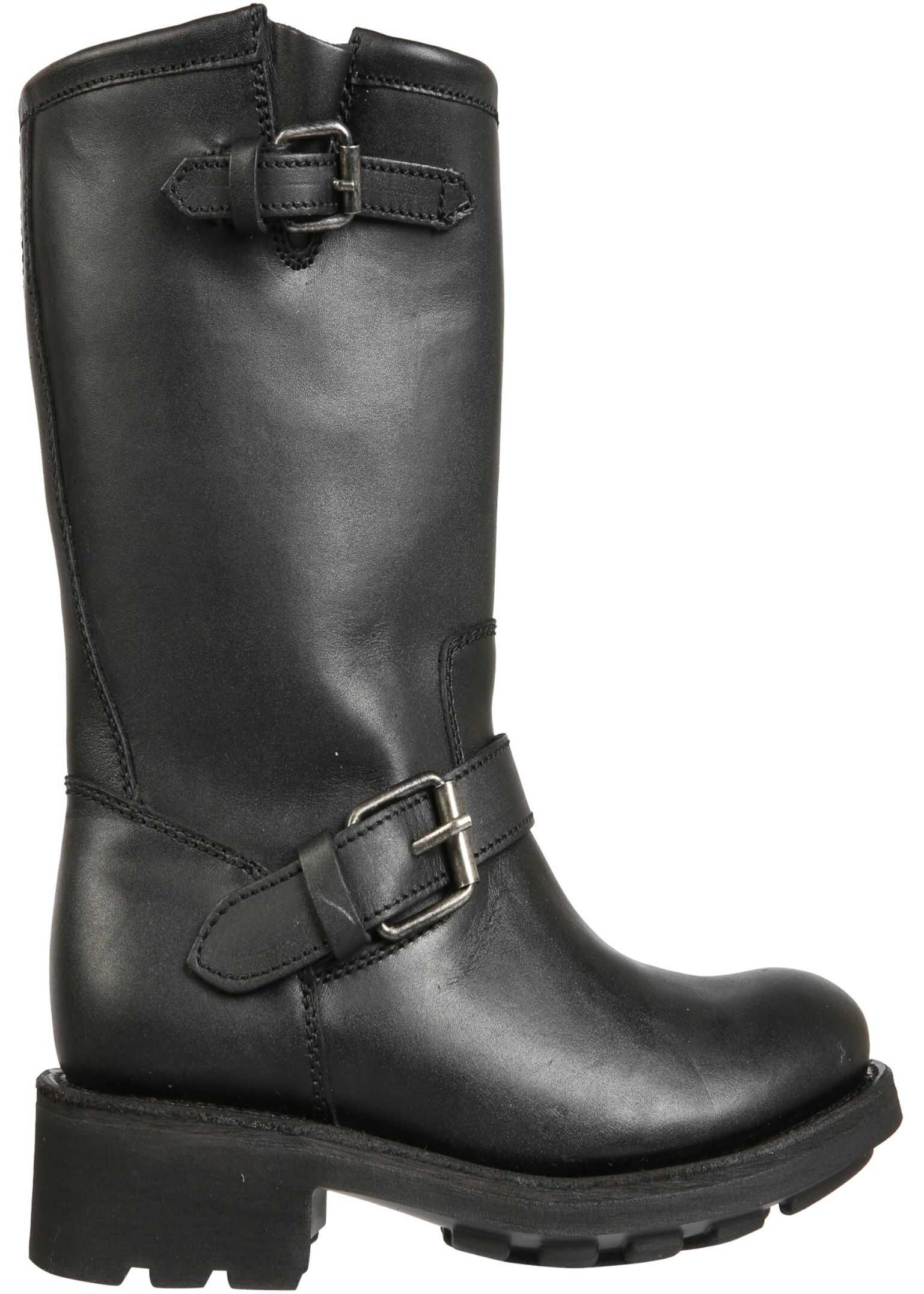 ASH Toxic Boots TOXIC02_WAXYBLACK BLACK imagine b-mall.ro