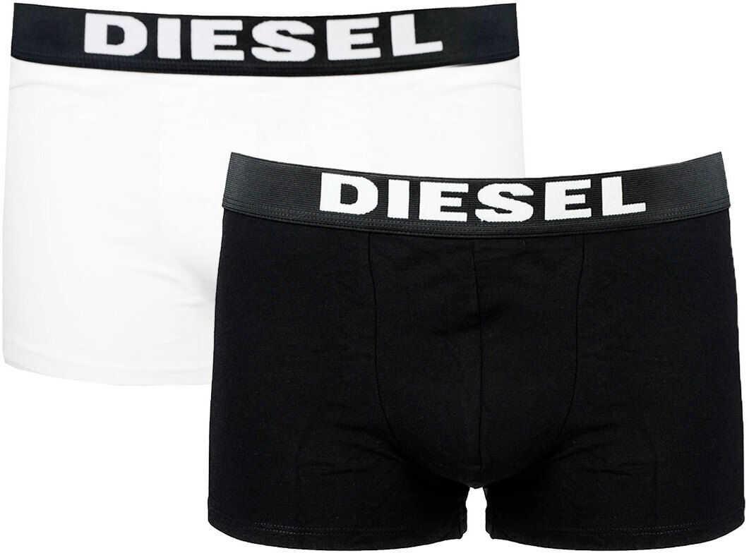 Diesel 2-Pack 00S9T9 Czarny/Biały imagine