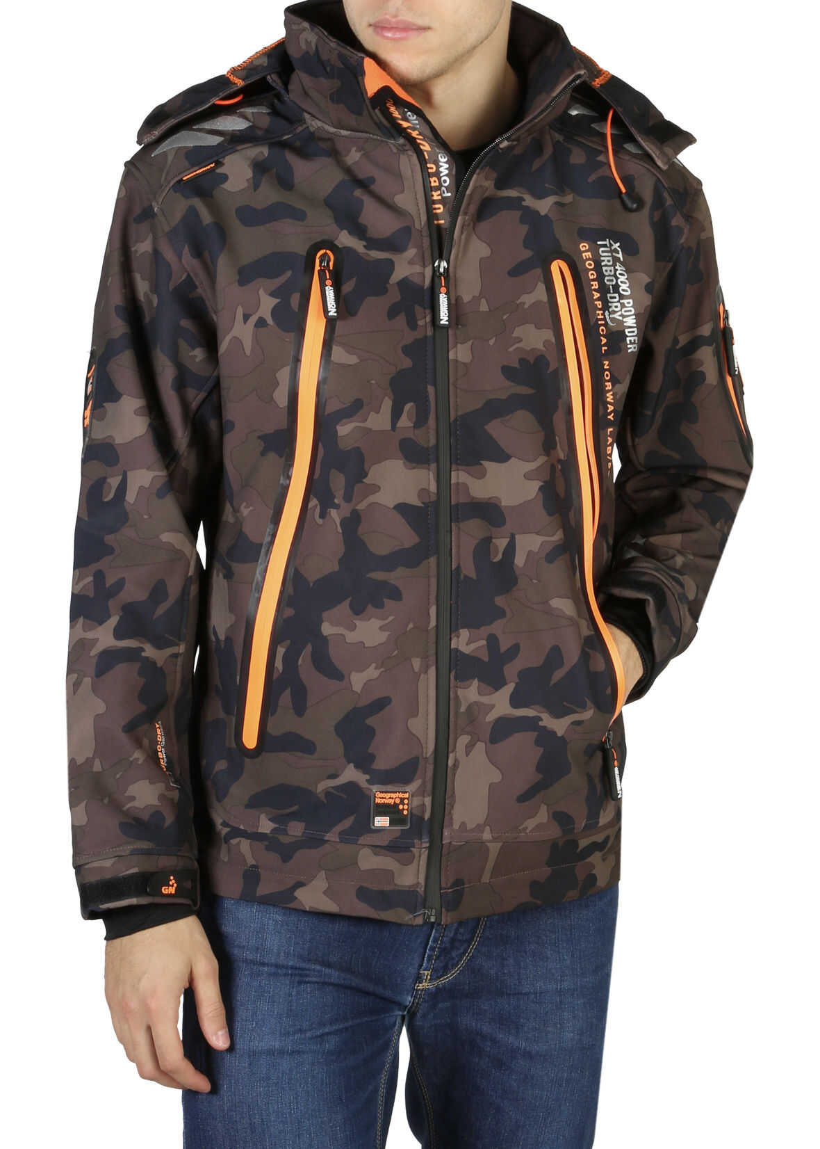Geographical Norway Torry_Man_Camo* BROWN