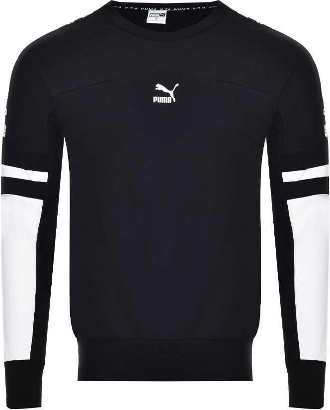 PUMA XTG Sweatshirt 595872-01 Black imagine