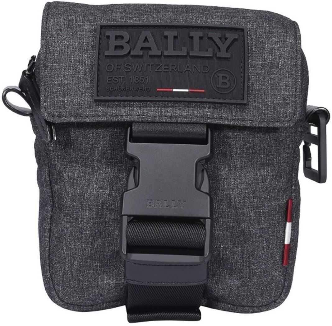 Bally Rady Cross Body Bag In Grey 6234239 Grey imagine b-mall.ro
