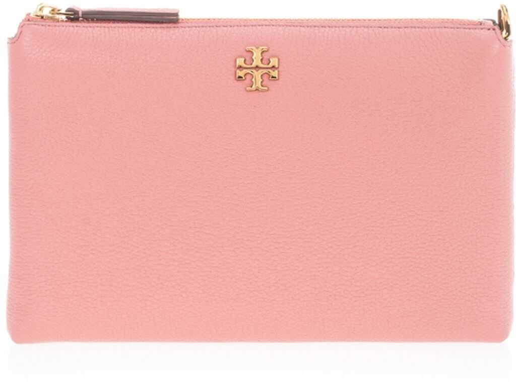 Tory Burch Clutch Bag In Pink With Chain 61385651 Pink imagine b-mall.ro