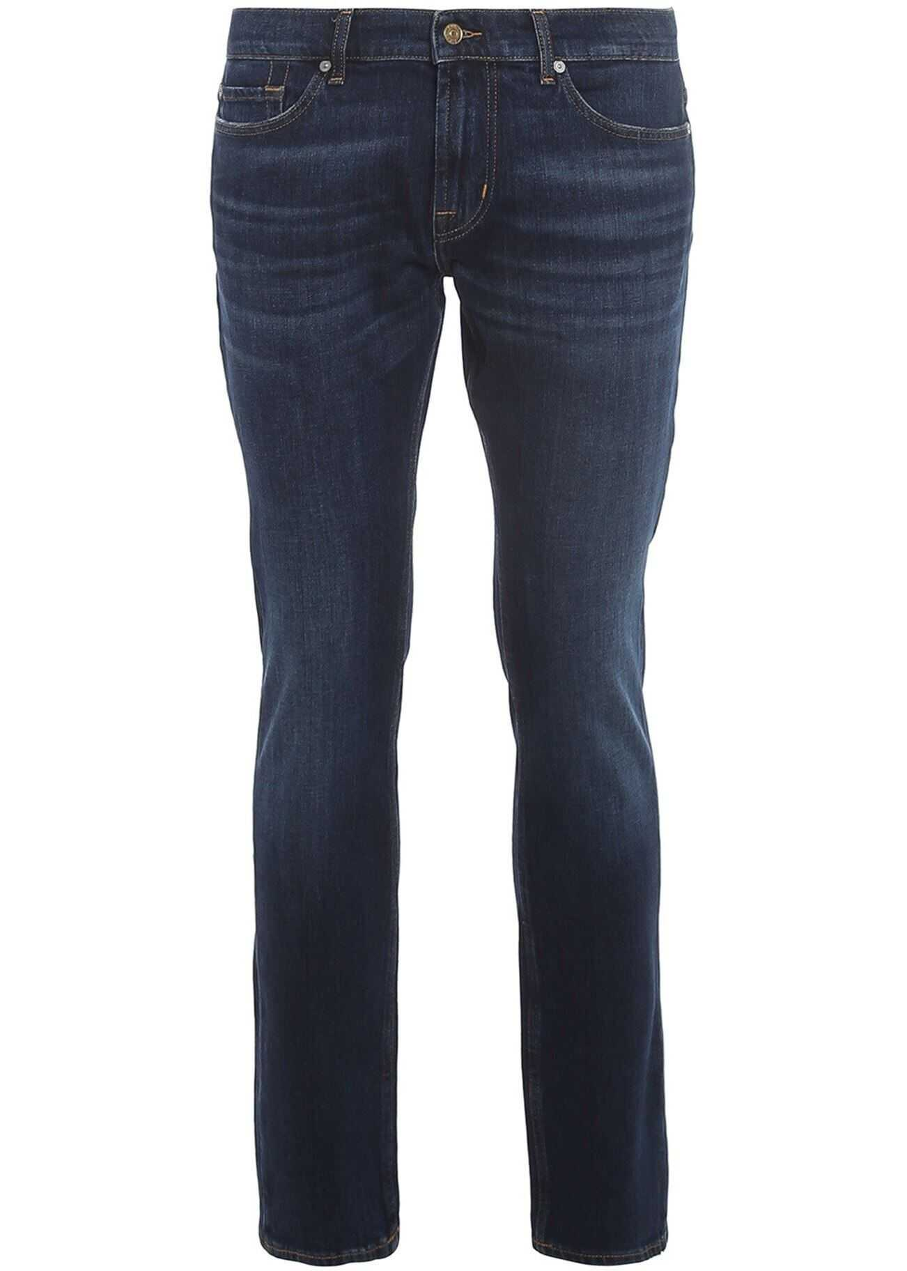 7 For All Mankind Ronnie Dorado Jeans In Blue Blue imagine