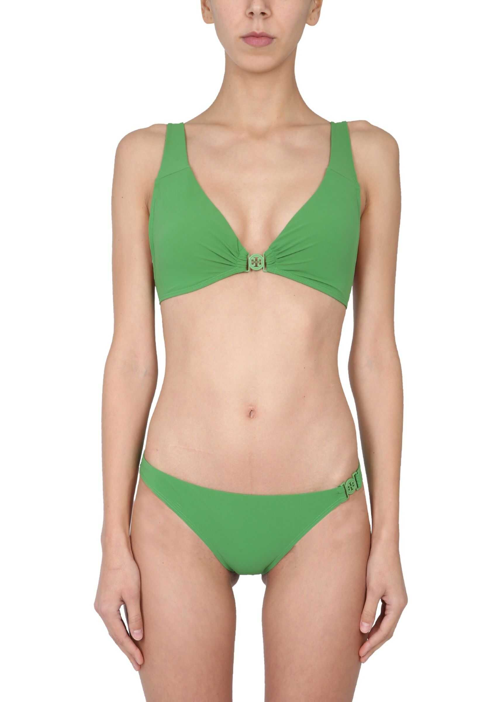 Tory Burch Miller Bikini Briefs GREEN