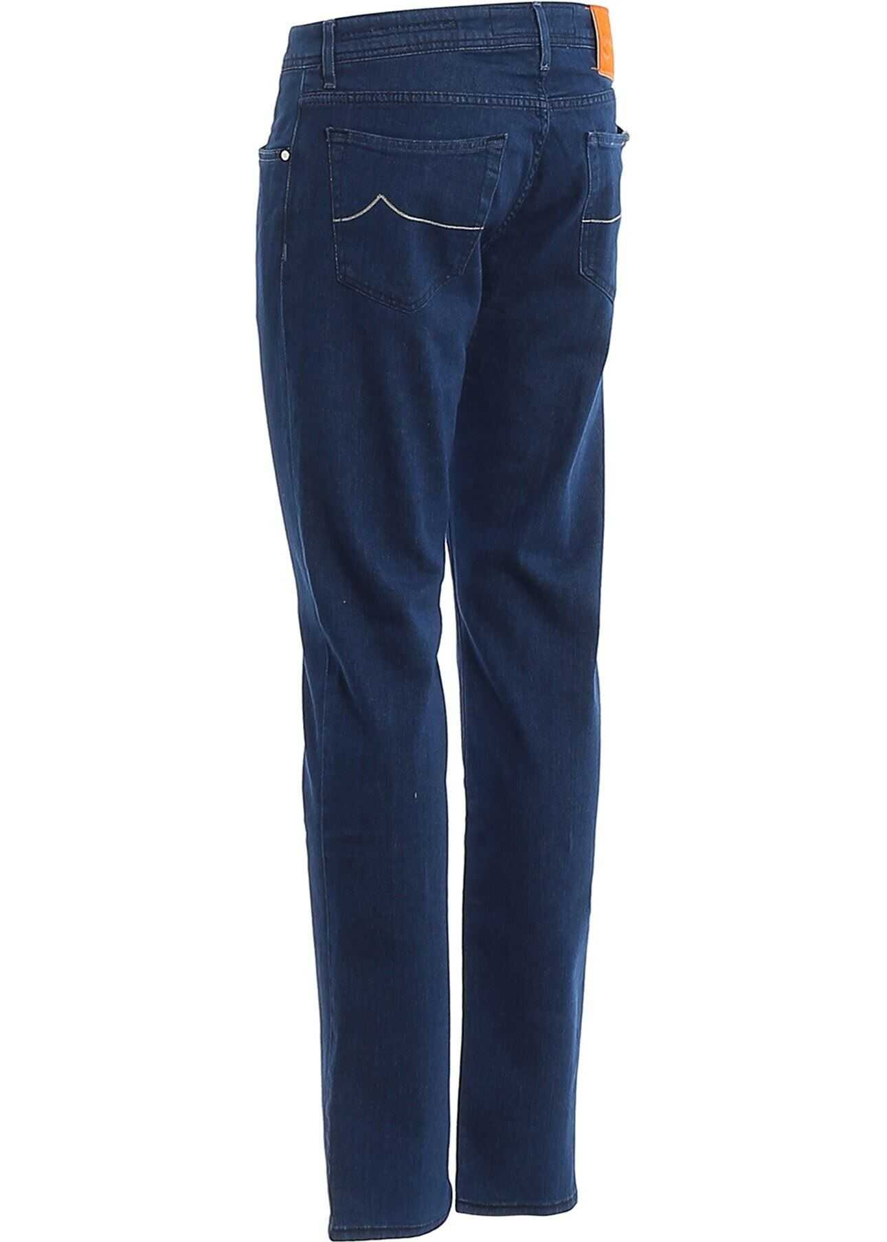 Jacob Cohen Style 622 Denim Jeans Blue imagine
