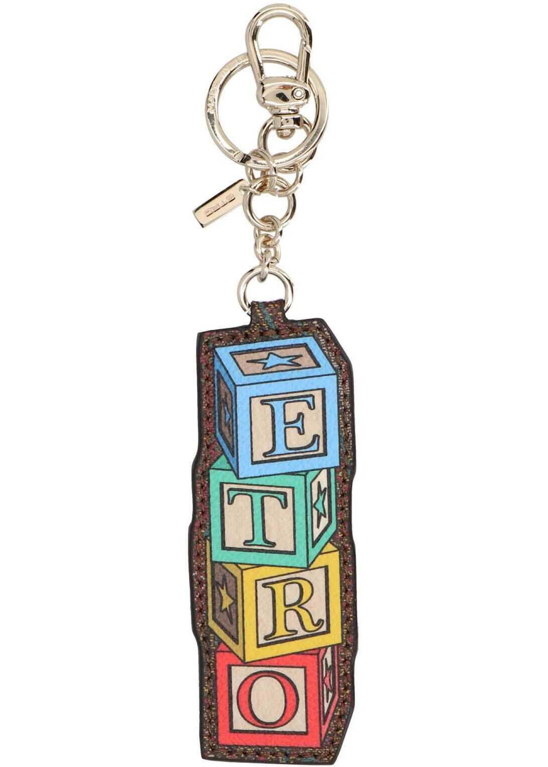 ETRO Etro Toys Dice Keyring In Multicolor