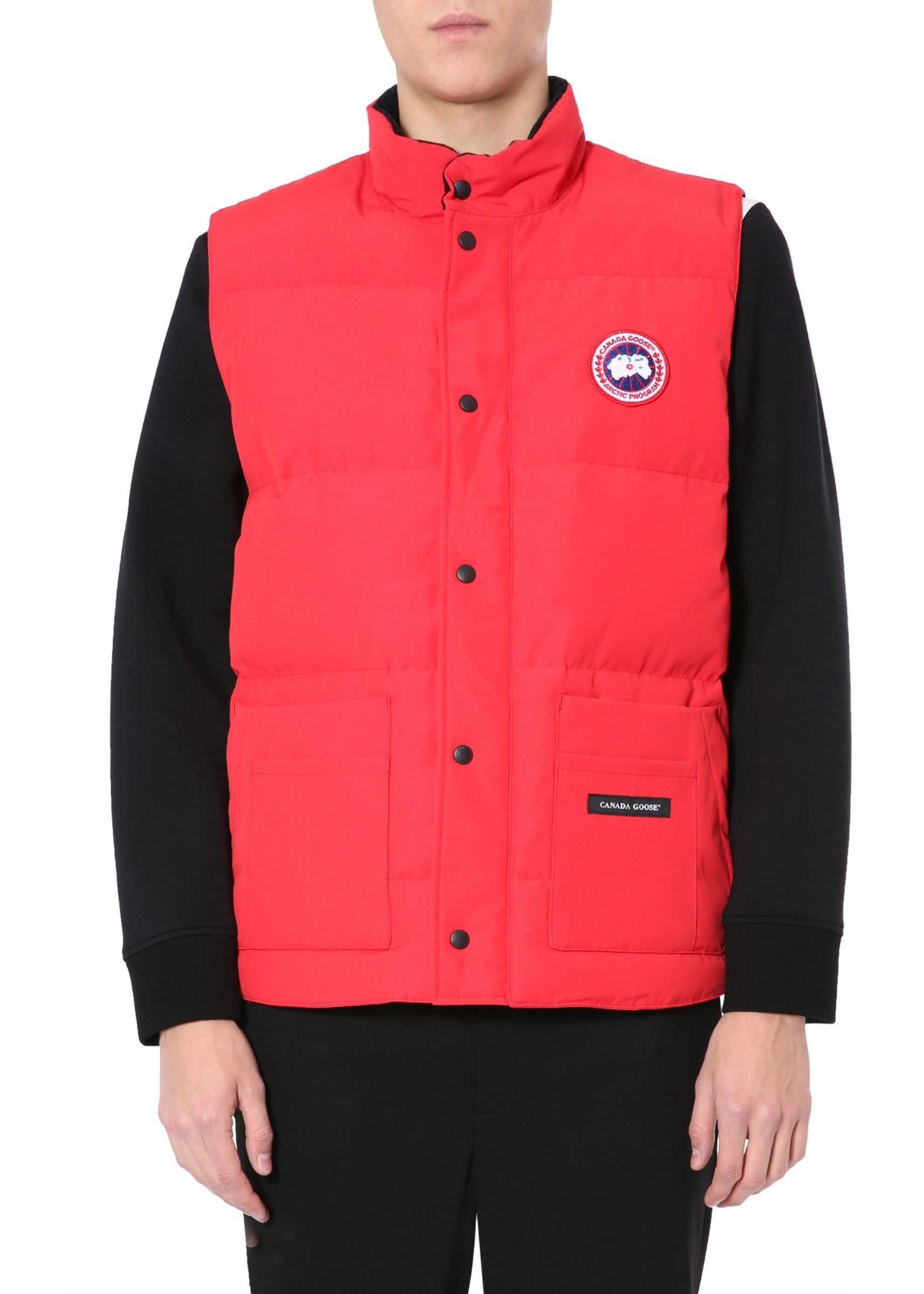 "CANADA GOOSE ""Freestyle"" Down Vest RED imagine"