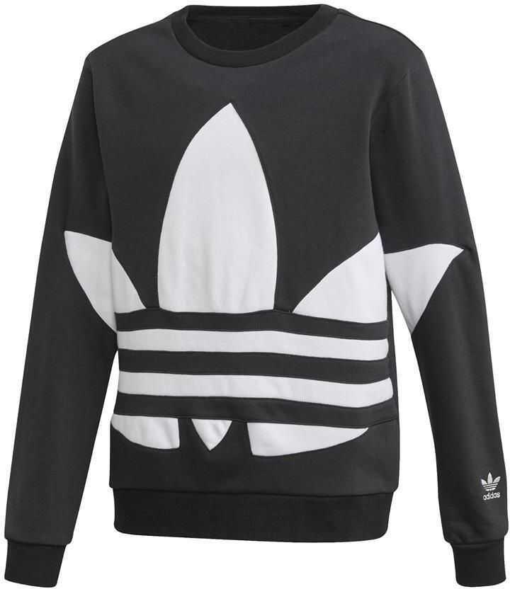 adidas Bg Trefoil Crew* Black