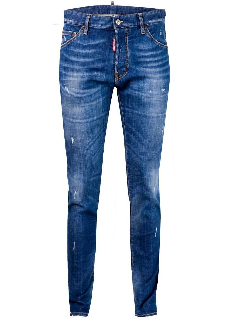 DSQUARED2 Cool Guy Jeans S71LB0605 Blue imagine