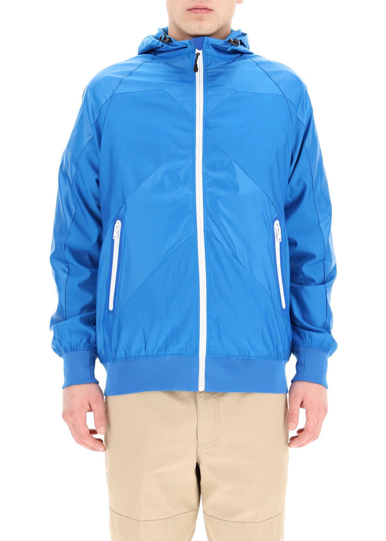Kenzo Little X Windbreaker Jacket Sport CYAN imagine