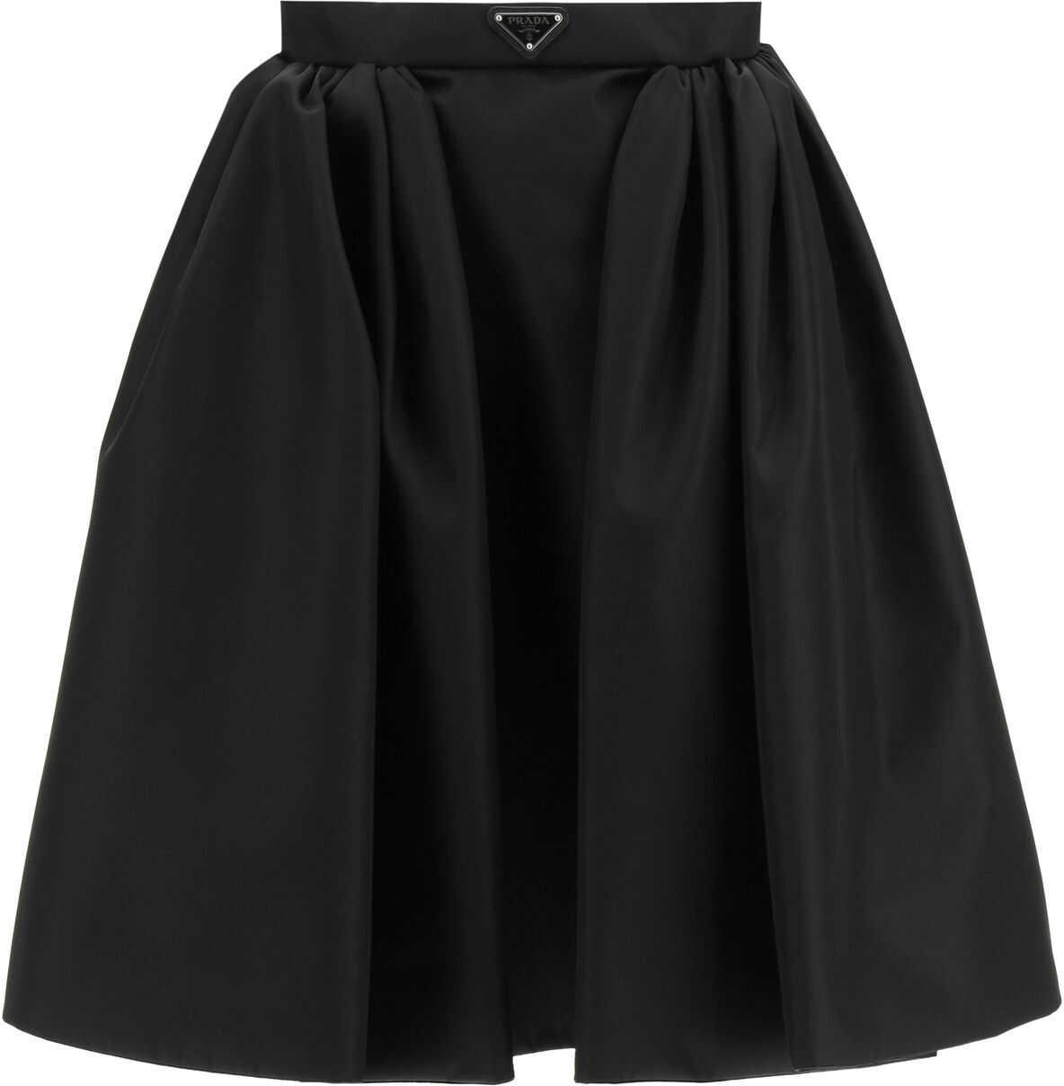 Wide Skirt In Re-Nylon Gabardine