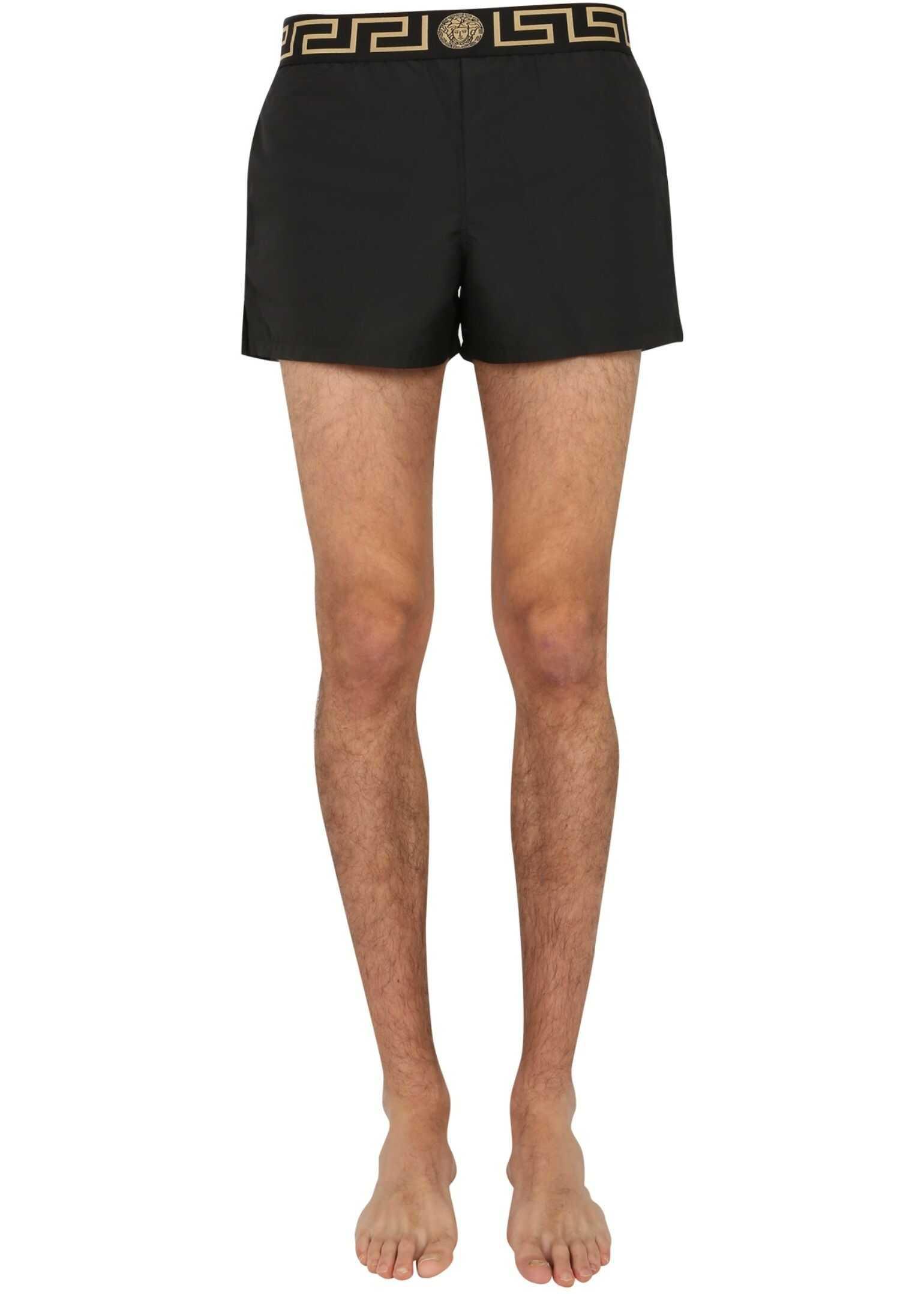Versace Swimsuit BLACK imagine